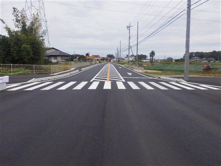 30国補地道 第30-03-488-0-009号 交差点改良舗装工事